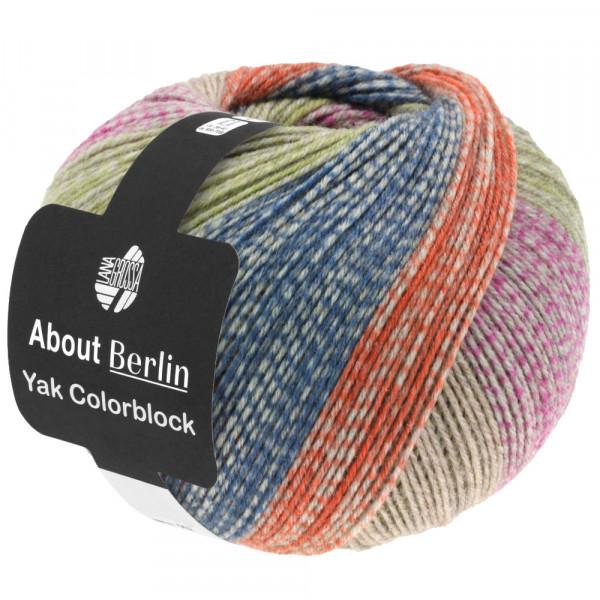 About Berlin Meilenweit 100 Yak Colorblock